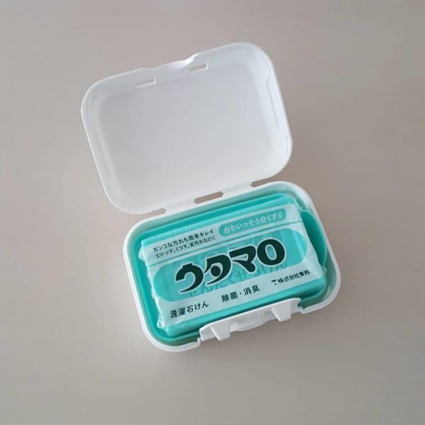 【セリア】洗濯石けんケース×ウタマロ石鹸