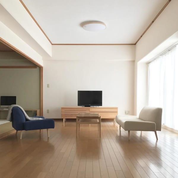 リビングの複数のソファを使うインテリア2