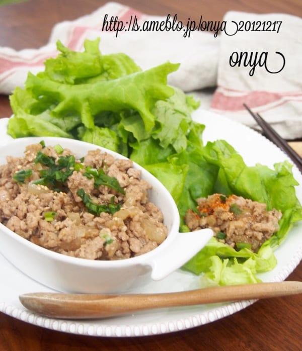 簡単な《ひき肉》料理3