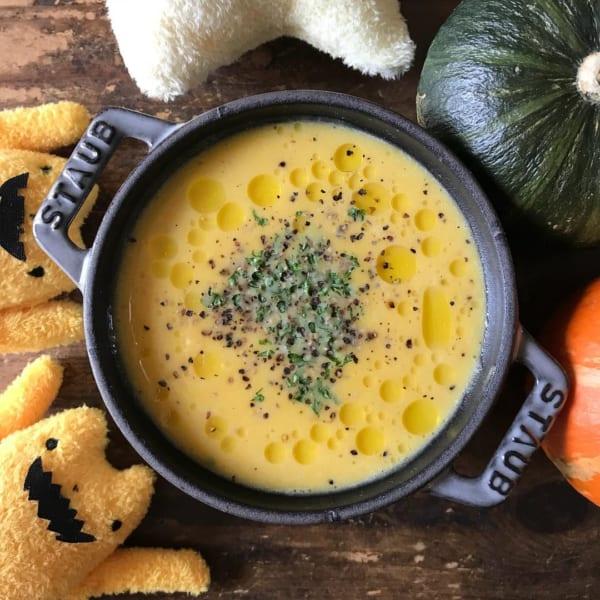 シンプルかぼちゃスープ