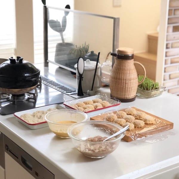 冷凍用も同時に調理する 家事ラク