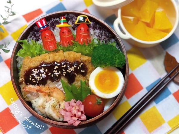 お弁当編④味噌カツ弁当