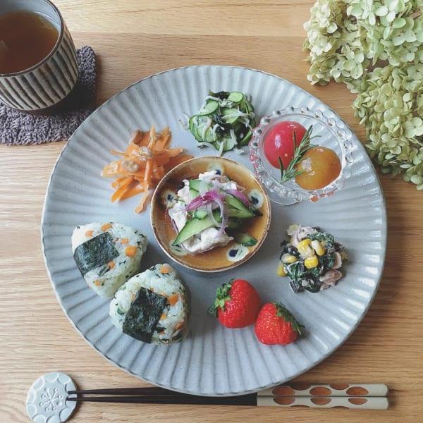 唐茶削ぎの和食器(ニトリ)
