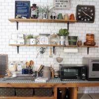 365日使うキッチンだからこそこだわりたい♡キッチンを大好きな空間に‥!