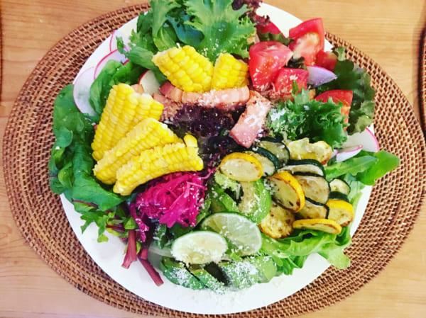夏野菜もりもりサラダ