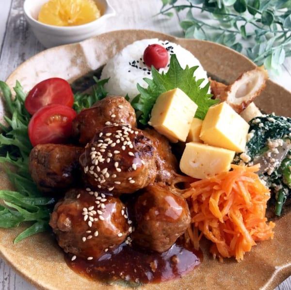 ワンプレート編①肉団子