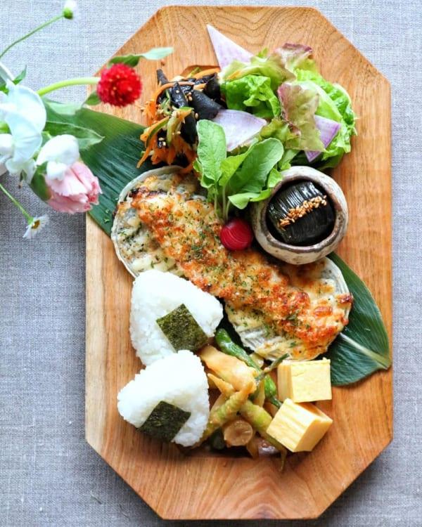 ワンプレート編③鮭のマヨネーズパン粉焼き