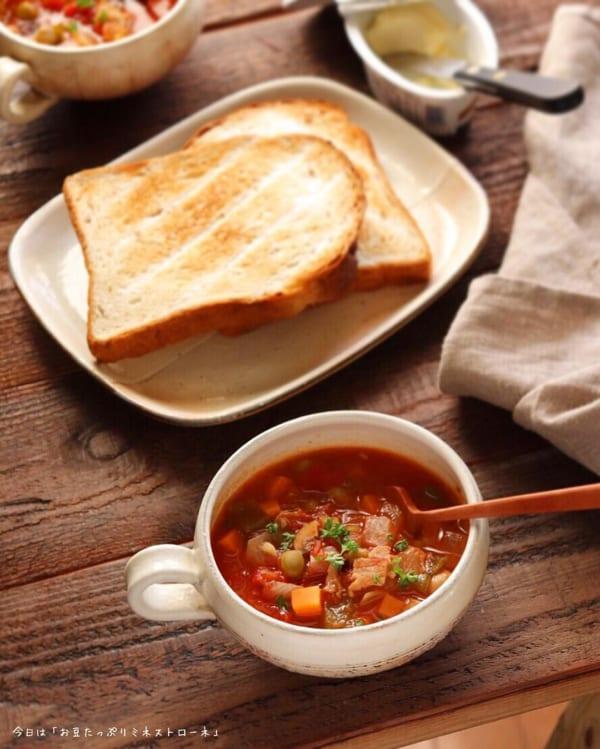ダイエット中におすすめの朝食《スープ》