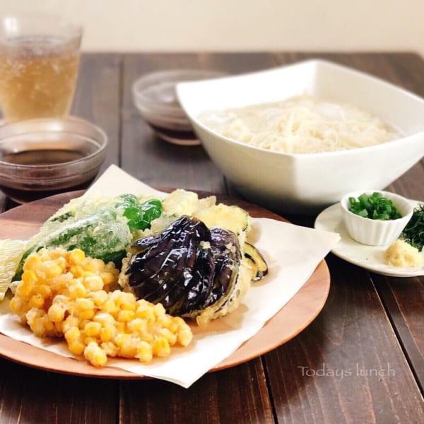 夏野菜天ぷら