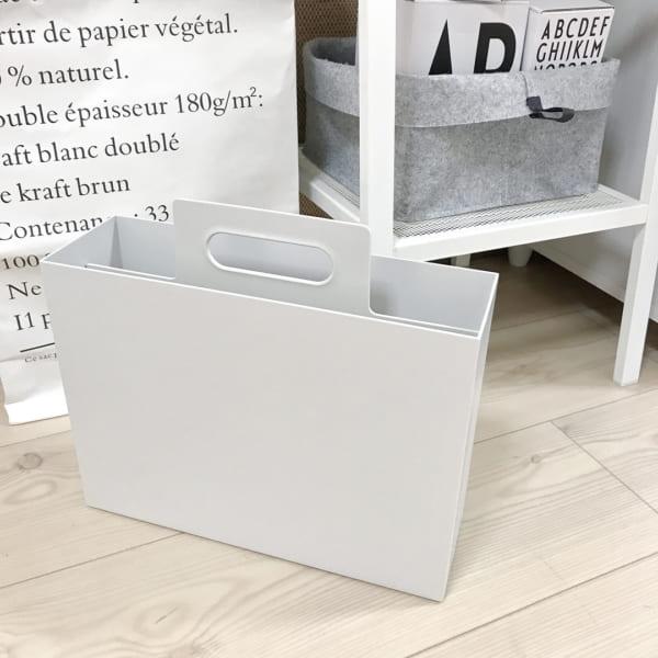 持ち手付きファイルボックス 無印良品