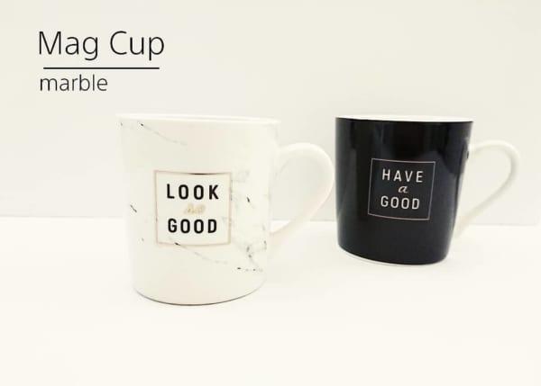 ダイソー ロゴデザインマグカップ