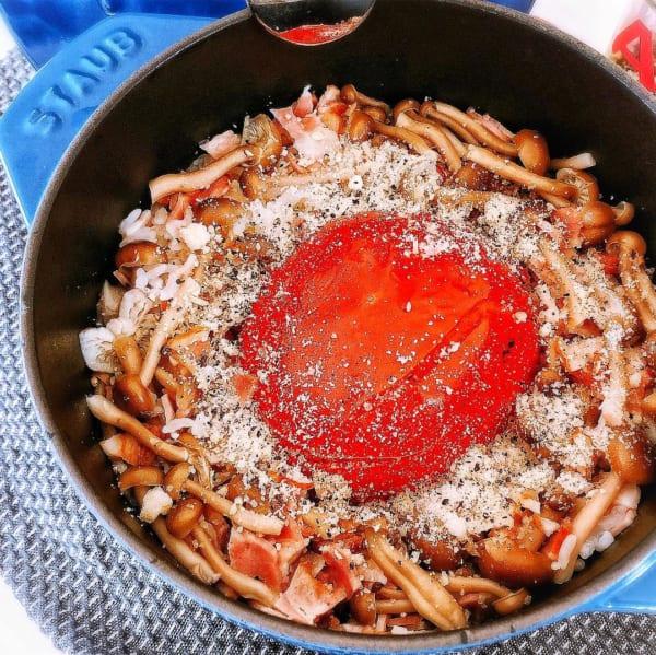 丸ごとトマトの炊き込みご飯