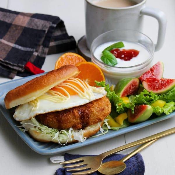 ワンプレート編⑤ドーナッツコロッケサンド