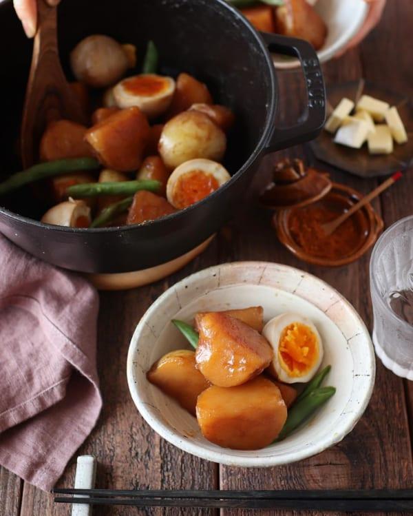 ジャガイモの甘辛煮