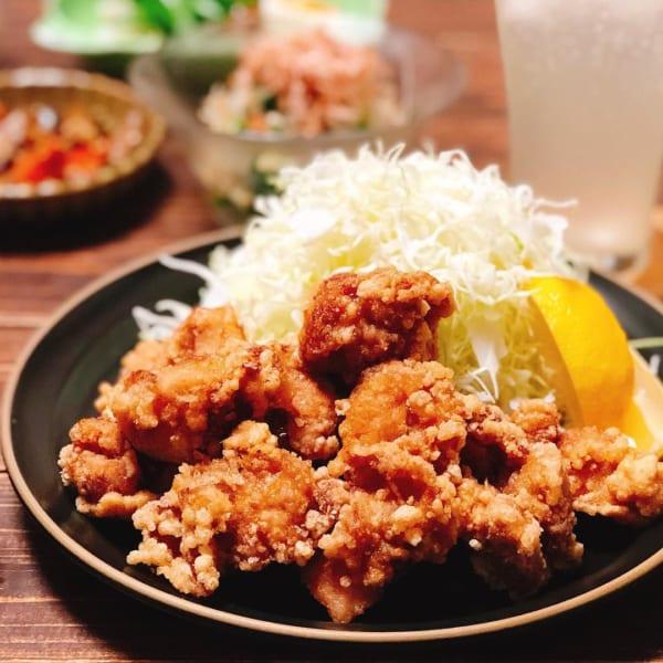鶏モモ肉の唐揚げ