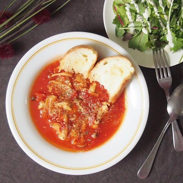 トマトチキンスープ