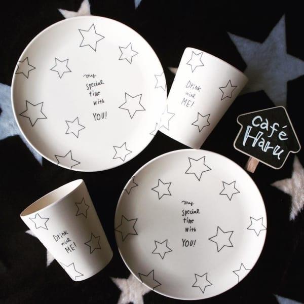 星モチーフの食器2