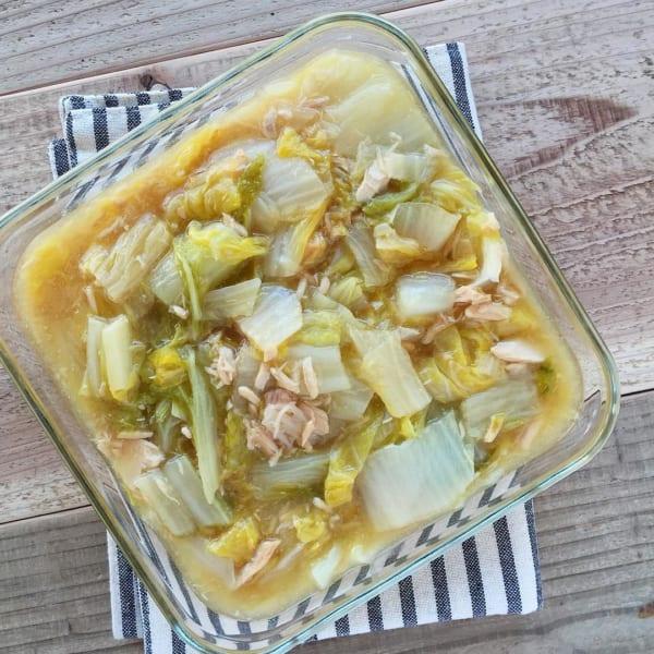 ツナと白菜のうま煮