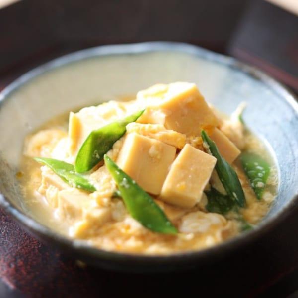出汁でホッとする豆腐料理