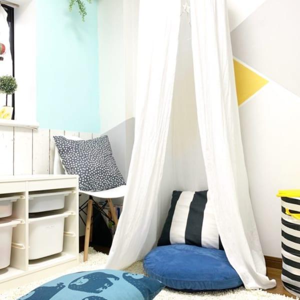 心地よいリゾートのような子供部屋