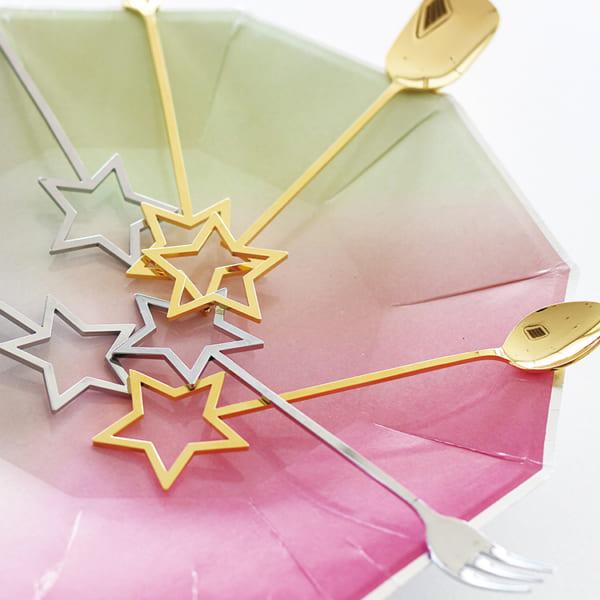星モチーフの食器4