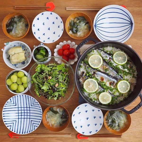 ふっくら美味しい秋刀魚の炊き込みご飯