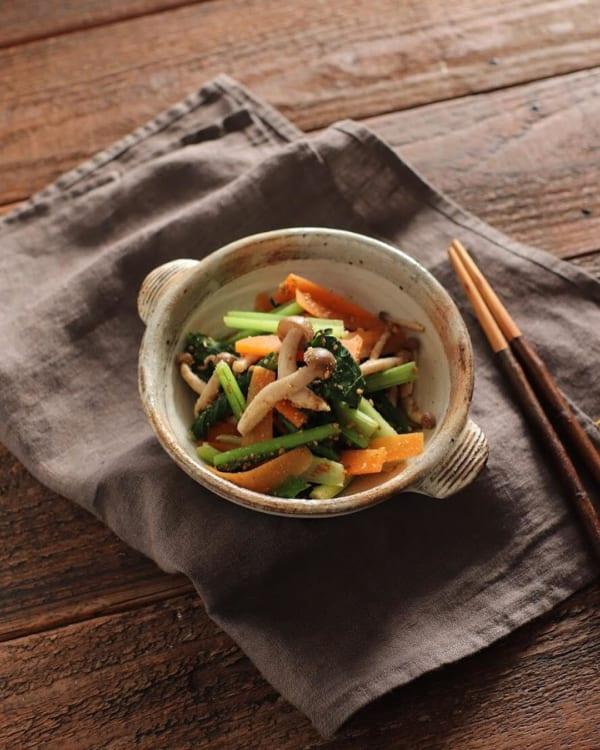 ベジタリアンにおすすめのレシピ《サラダ・副菜》3