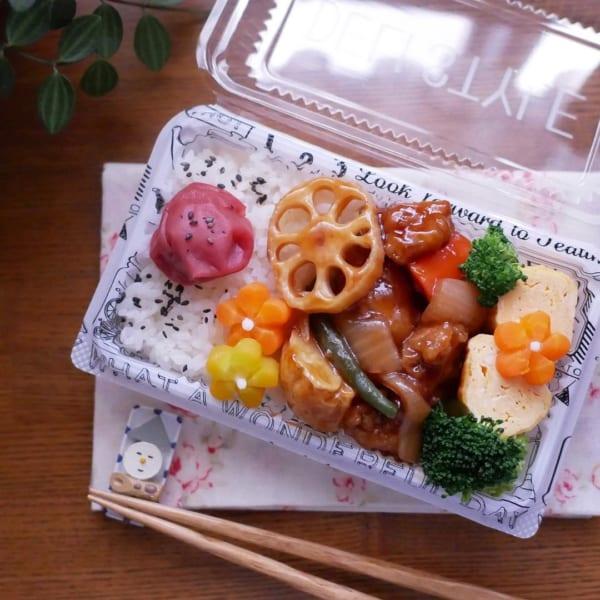 中華の王道!酢豚弁当