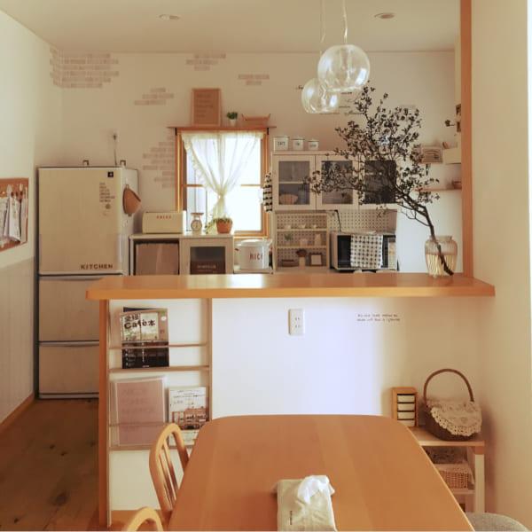 キッチンカウンターの使い方アイデア9