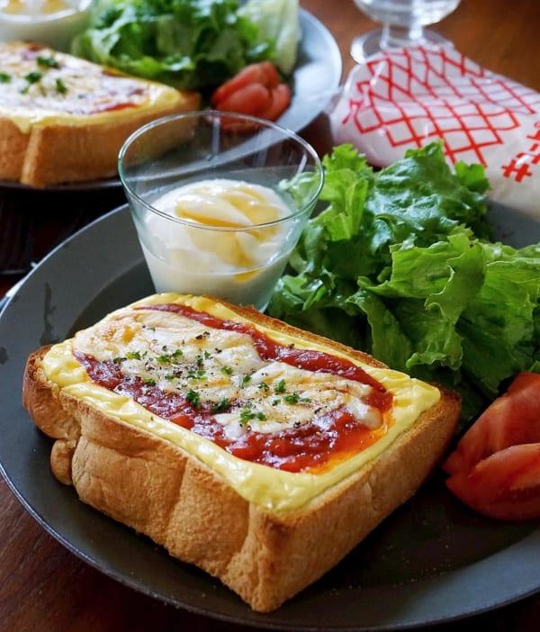 マヨネーズ&ミート&チーズ