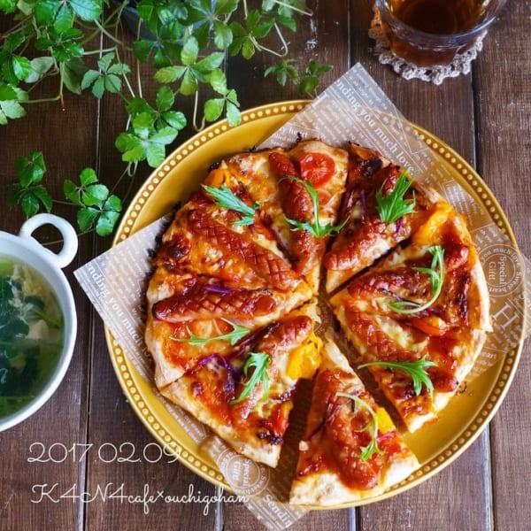 オリジナルピザでこどもの日