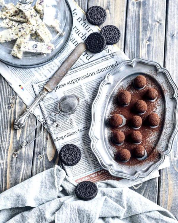 おやつレシピ①チョコレート4