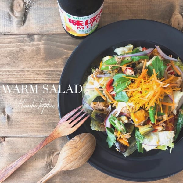 ツナと夏野菜の炒めサラダ