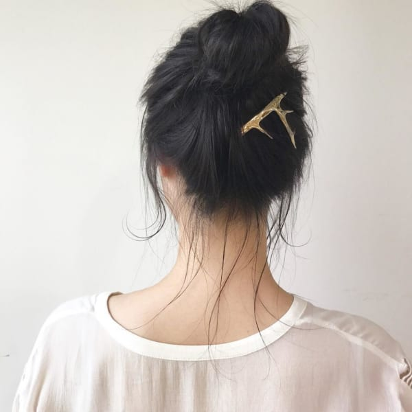 ミディアムのまとめ髪⑤お団子14