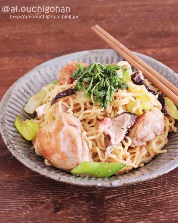麺レシピ③中華麺10
