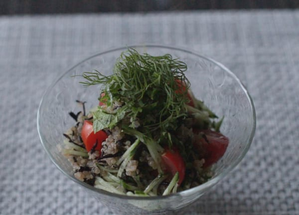 ダイエット中におすすめの朝食《サラダ》5