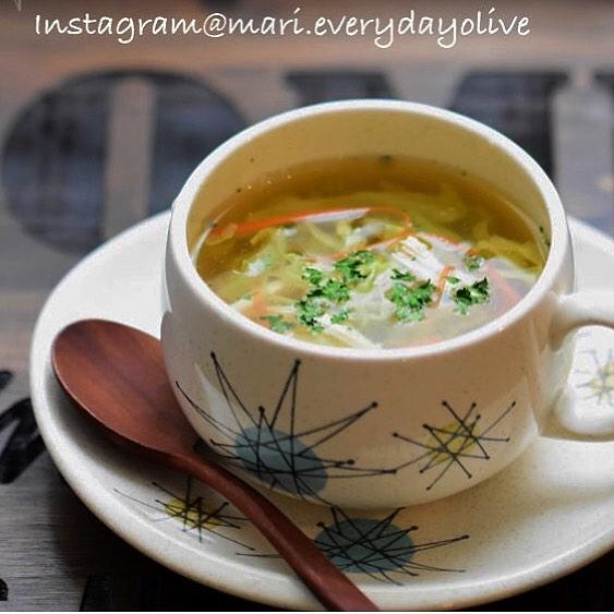 レンジで2分!簡単無添加スープ