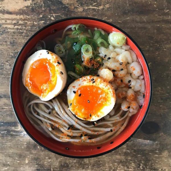 麺レシピ④蕎麦