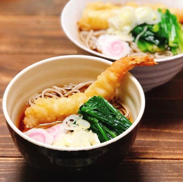 麺レシピ④蕎麦3