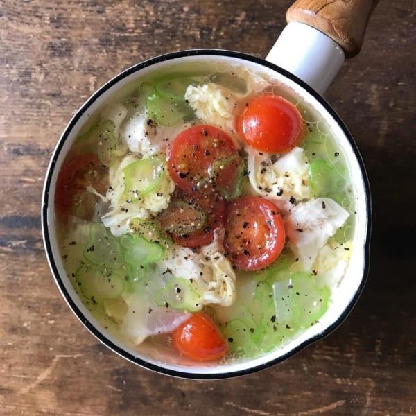 鶏の中華スープ