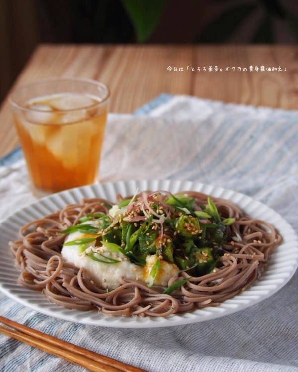 麺レシピ④蕎麦5