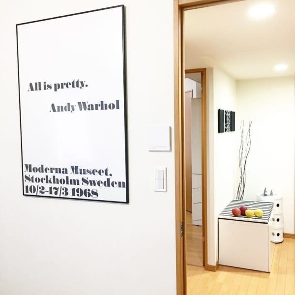 アンディーウォーホール展のポスター