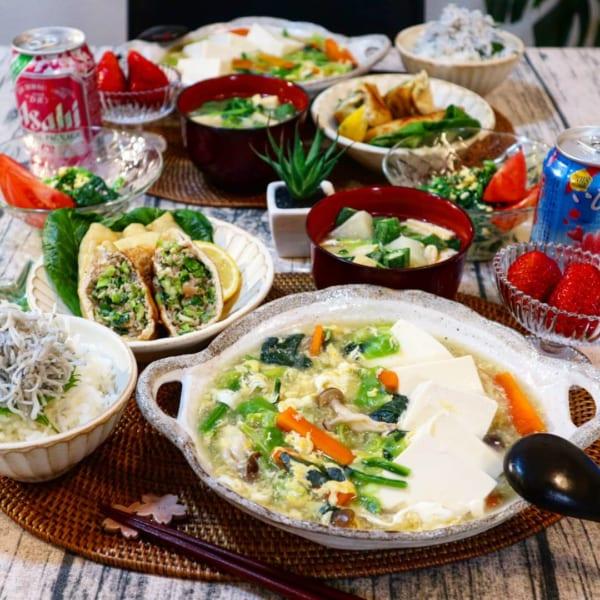 春野菜と豆腐のとろとろ煮