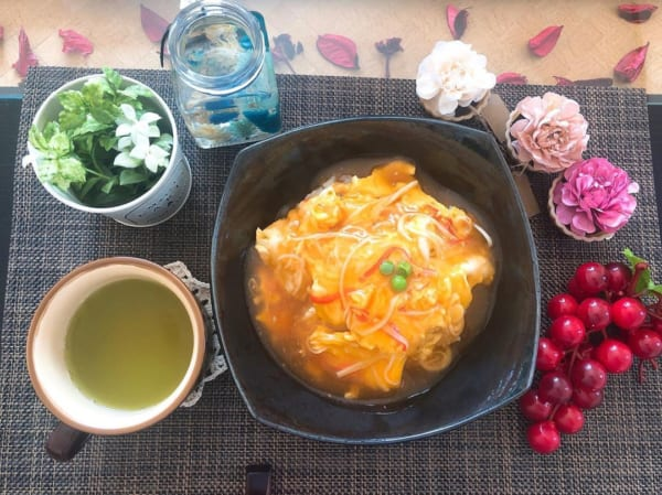 中国料理が日本風になった天津飯