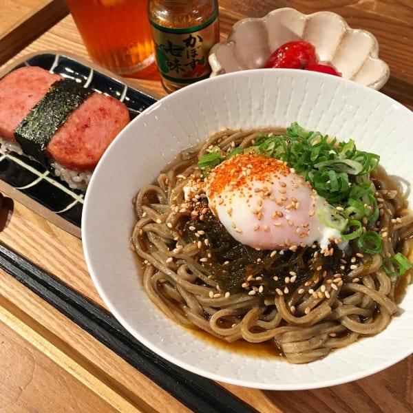麺レシピ④蕎麦6