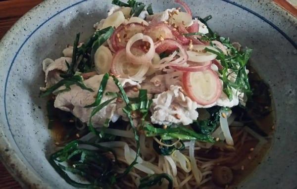 簡単大葉素麺