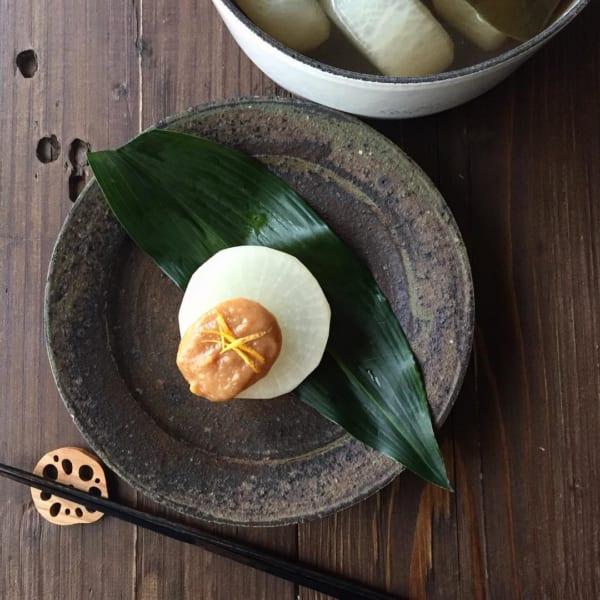 ふろふき大根の柚子味噌