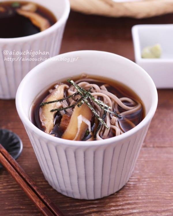 麺レシピ④蕎麦7