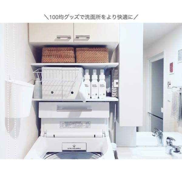 【セリア・ダイソー】で叶う、快適な小物収納実例集9
