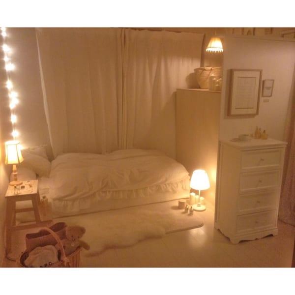 ベッドルーム インテリア5